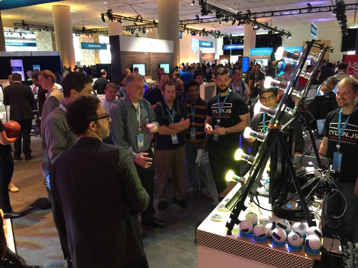 Cylon.js at Dreamforce 2014